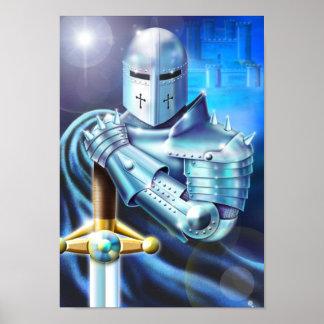 青い騎士ポスター ポスター
