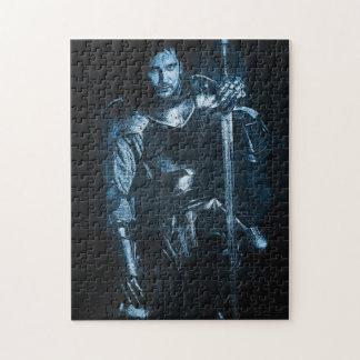 「青い騎士」パズル ジグソーパズル