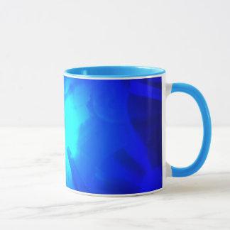 青い騒音 マグカップ