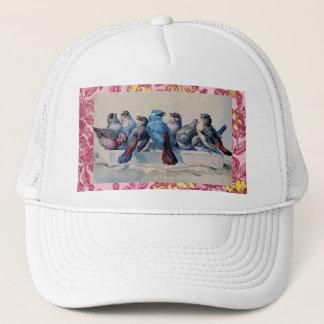 青い鳥の帽子 キャップ