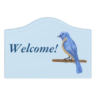青い鳥 ドアサイン