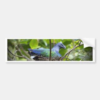 青い鳥 バンパーステッカー