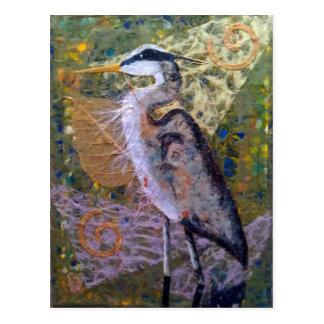 青い鷲のリターン ポストカード