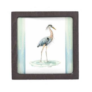青い鷲の水彩画 ギフトボックス