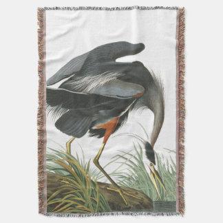 青い鷲の鳥のAudubonの野性生物のブランケット 毛布