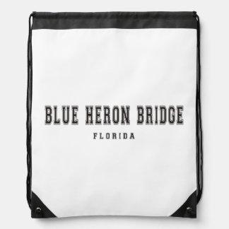 青い鷲橋フロリダ ナップサック