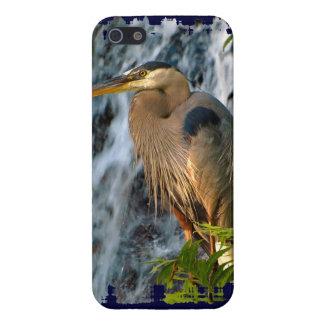 青い鷲、渡る鳥、滝、鷲のデザイン iPhone 5 CASE