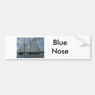 青い鼻 バンパーステッカー