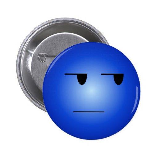 青い|ええ|権利|スマイリー 缶バッジ