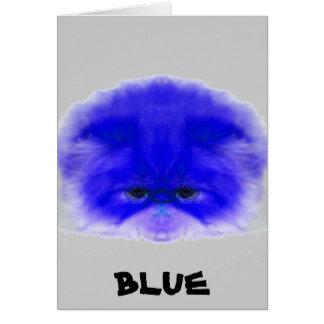 青い カード