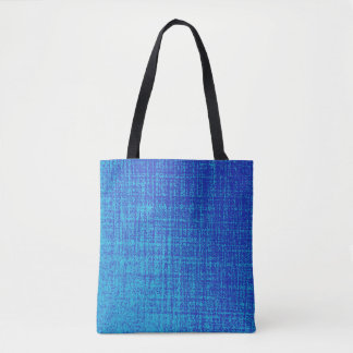 青い トートバッグ