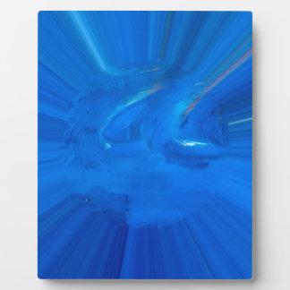 青い フォトプラーク