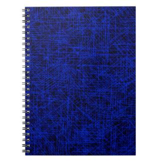 """青い""""傷""""のノート ノートブック"""