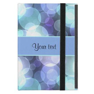 青い《写真》ぼけ味 iPad MINI ケース