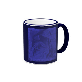 青い|反射|I リンガーマグカップ