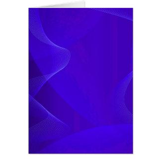 青い 波 I グリーティングカード