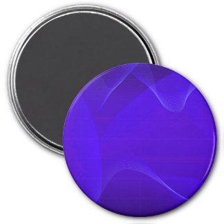 青い 波 I 磁石