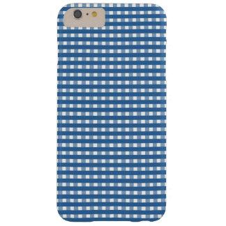 """青い""""点検""""の電話箱 BARELY THERE iPhone 6 PLUS ケース"""