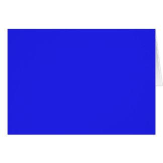 青い(無地の) ~ カード