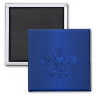 青い(紋章の)フラ・ダ・リ マグネット