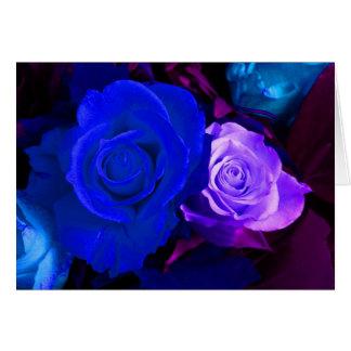 青い 紫色 上がりました