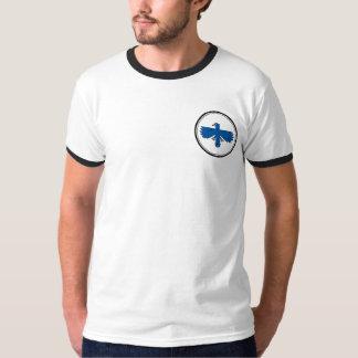 青い《鳥》ハヤブサ Tシャツ