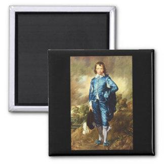 青いBoy', Thomas_Portraits マグネット