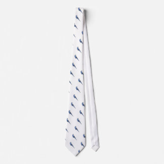 青いBudgie ネクタイ