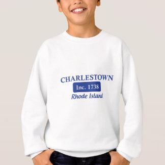 青いCharlestownロードアイランド スウェットシャツ