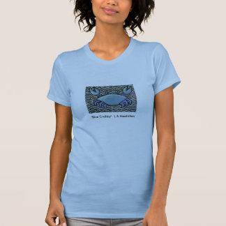 """""""青いCrabby """" Tシャツ"""