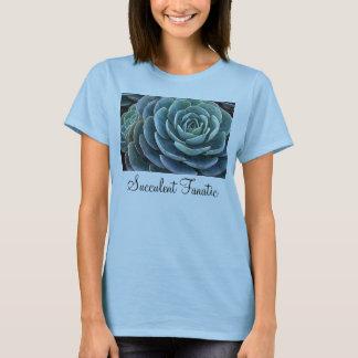 青いecheveriaの女性のTシャツ Tシャツ