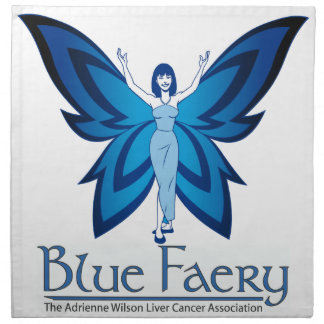 青いFaeryの布のナプキン(多くのサイズかスタイル) ナプキンクロス