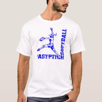 青いFastpitchのコーナー Tシャツ