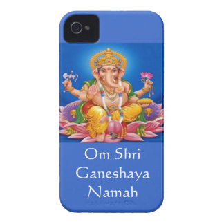 青いGanesh主のiphone 4ケース Case-Mate iPhone 4 ケース