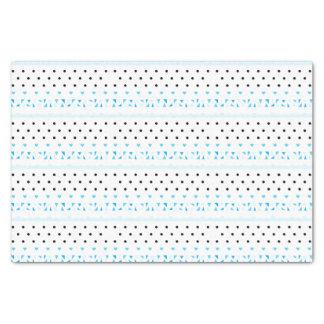 青いGeometrics 薄葉紙