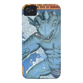 青いGorgo Case-Mate iPhone 4 ケース