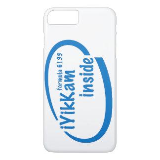青いiPhone 7の中のiYikKam+ 場合 iPhone 8 Plus/7 Plusケース