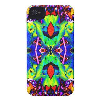 青いLillyは好みます Case-Mate iPhone 4 ケース