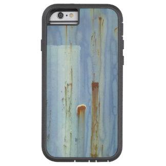 青いmetallの壁 tough xtreme iPhone 6 ケース