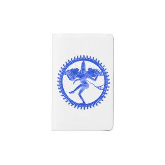 青いNataraja ポケットMoleskineノートブック