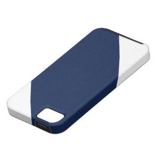 青いPaストライプのなIPhone 5の箱 iPhone 5 Cover