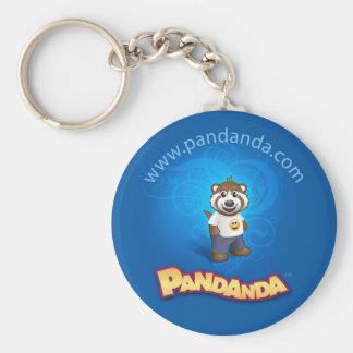 青いPandanda Keychain キーホルダー