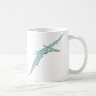 青いPterodactylの恐竜4 コーヒーマグカップ