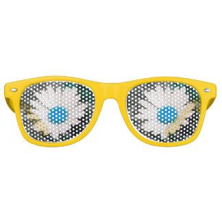青いShastaデイジーのサングラス レトロサングラス