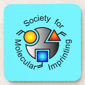 青いSMIのロゴのコースター コースター