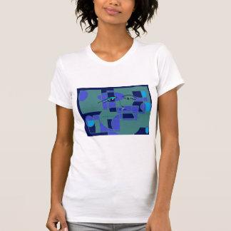 青いTシャツを感じること Tシャツ