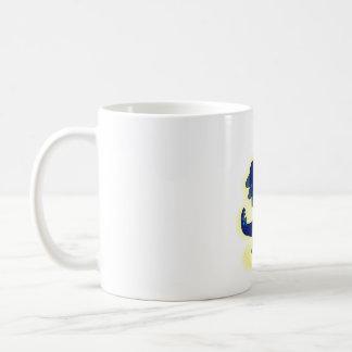 青いTレックス コーヒーマグカップ