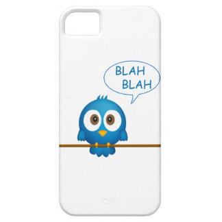 青いtwitterの鳥の漫画 iPhone SE/5/5s ケース