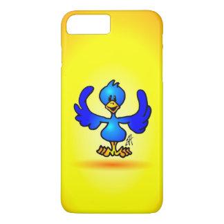 青いTwitterの鳥 iPhone 8 Plus/7 Plusケース