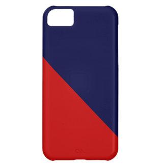 青いV. RedののiPhone 5の箱 iPhone5Cケース